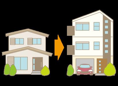 住宅の建て替え