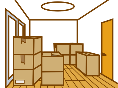 整理された部屋