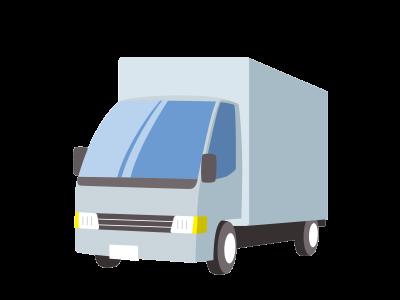 トラックの荷台