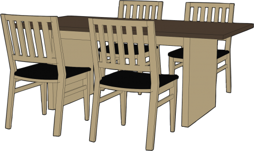ダイニングテーブル・食卓